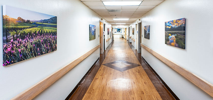 Hallway at Villa Rancho Bernardo